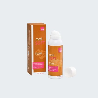 medi soft foam 125 ml - skin care products