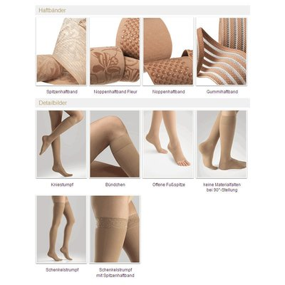 Compression Stocking Ofa Memory with Aloe Vera