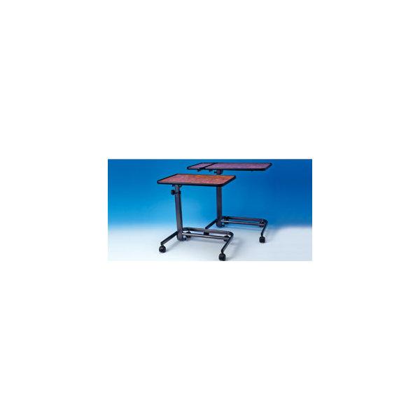 beistell tisch spezial wurzelholz imitiert mit seitenplatte 134 80 e. Black Bedroom Furniture Sets. Home Design Ideas