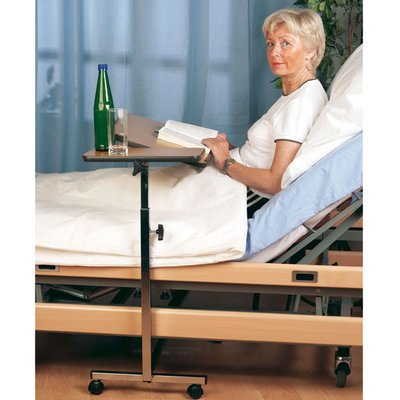 Servoprax bed table with double function