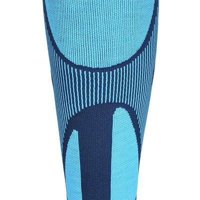 Sportstrümpfe Bauerfeind Sports Ski Performance Compression Socks men blau XL 38-40